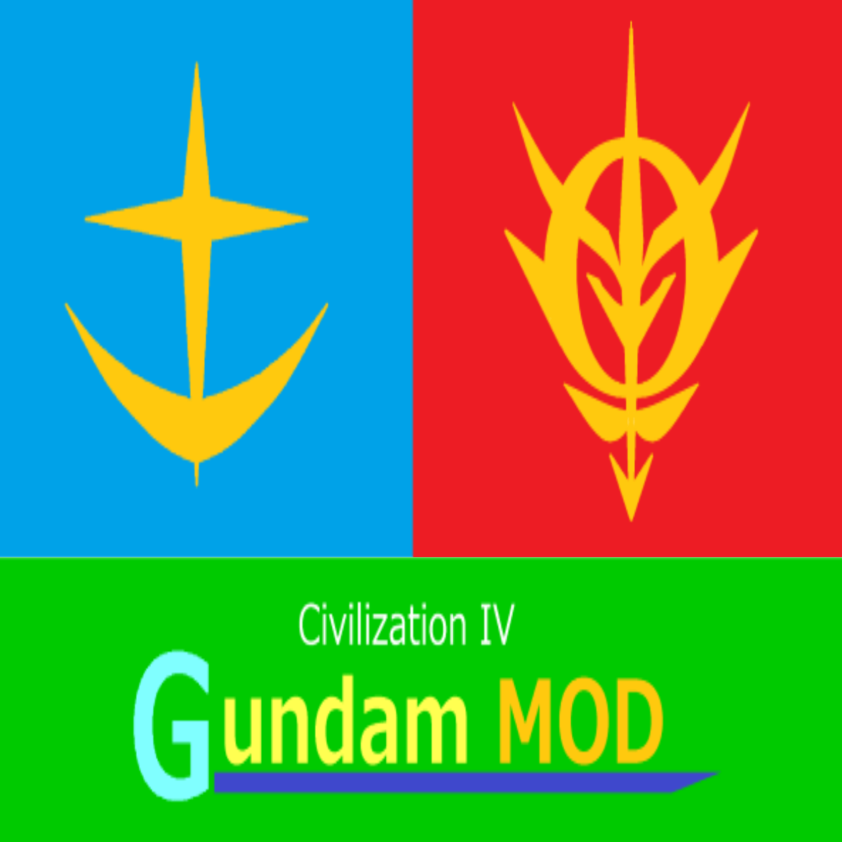 Civ4 GUNDAM MOD Ver.1.0情報(16/01/05更新)